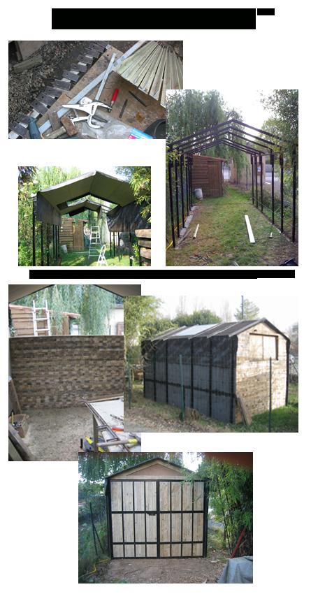 Fabrication et construction de mon atelier