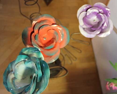 Roses bis-colore