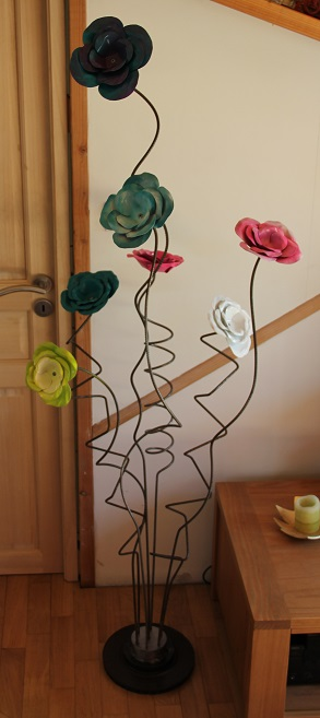 Roses sur support 1